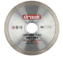 buy Draak 115mm x 22.23mm Ceramic Tile Cutting Disc
