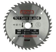 buy Draak TCT Circular Saw blade 165mm x 20mm x 40T
