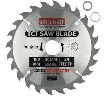 buy Draak TCT Circular Saw Blade 190mm x 30mm x 24T