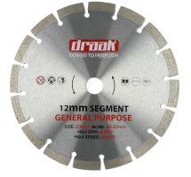 buy Draak 230mm x 22.23mm General Purpose Cutting Disc