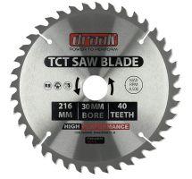 buy Draak TCT Circular Saw blade 216mm x 30mm x 40T