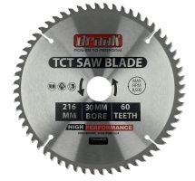 buy Draak TCT Circular Saw blade 216mm x 30mm x 60T