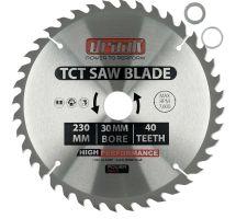BUY Draak TCT Circular Sawblade 230mm x 30mm x 40T