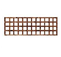 Buy weatherwell 6ft x 2ft garden Square trellis panel