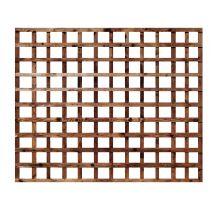 Buy weatherwell 6ft x 5ft garden Square trellis panel
