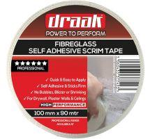 Buy Draak 100mm x 90m Scrim Tape Drywall