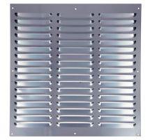 buy Draak 12x12 Aluminium Louvre Ventilator 300mm x 300mm