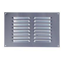 buy Draak 9x6 Aluminium Louvre Ventilator 225mm x 150mm