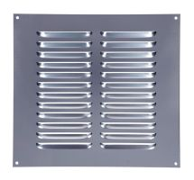 Buy Draak 9x9 Aluminium Louvre Ventilator 225mm x 225mm