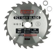 Draak TCT Circular Saw Blade 165mm x 20mm x 24T