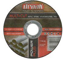 buy Draak 115mm x 1mm Ultra Thin Cutting Disc x10