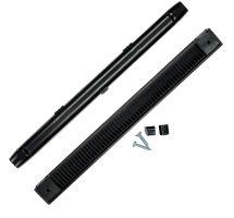buy Draak 407mm Black Window Trickle Slot Vent Internal & External With Fixings