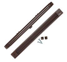 buy Draak 263mm Brown Window Trickle Slot Vent Internal & External With Fixings