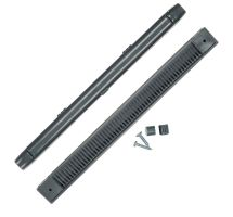 buy Draak 407mm Charcoal Window Trickle Slot Vent Internal & External With Fixings