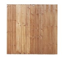 Buy weatherwell 6ft x 5ft feather edge garden closeboard fence panel