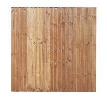Buy weatherwell 6ft x 6ft feather edge garden closeboard fence panel