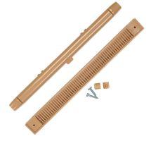 buy Draak 407mm Irish Oak Window Trickle Slot Vent Internal & External With Fixings