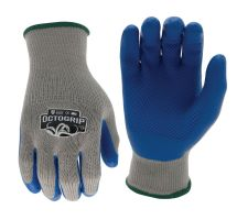 buy Octogrip OG300 9 Large Heavy Duty Glove 10G Polyester Latex Palm