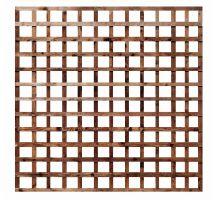 Buy weatherwell 6ft x 6ft garden Square trellis panel